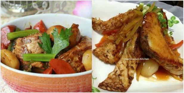 特式魚腩料理