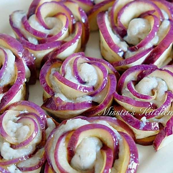 紫花茄子蒸鯪魚肉