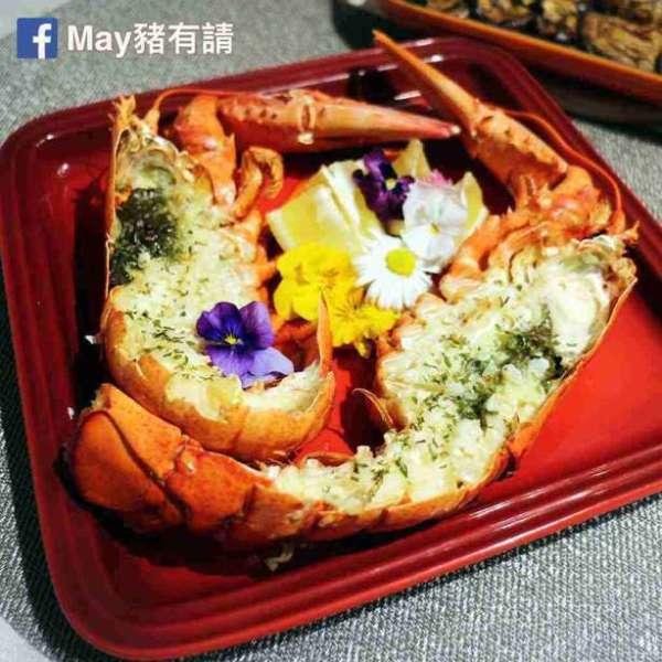蒜蓉香草焗龍蝦