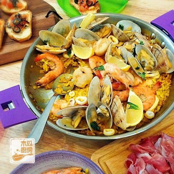 西班牙海鮮炒飯