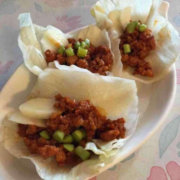 韓式辣肉醬生菜包