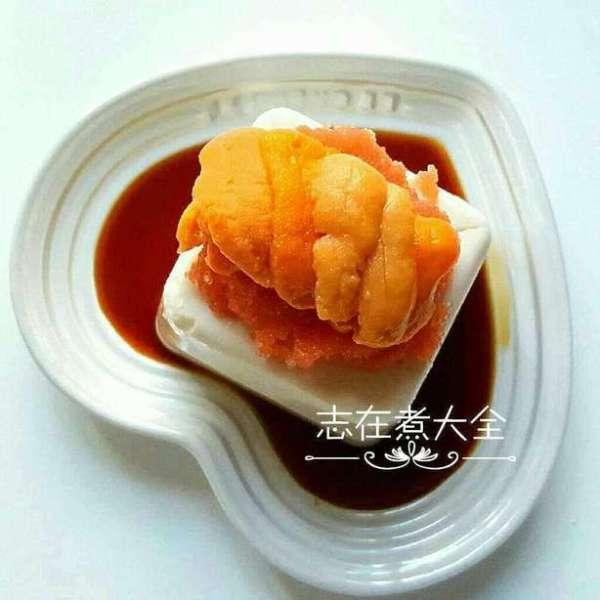 鮮鮮明太子海膽凍豆腐
