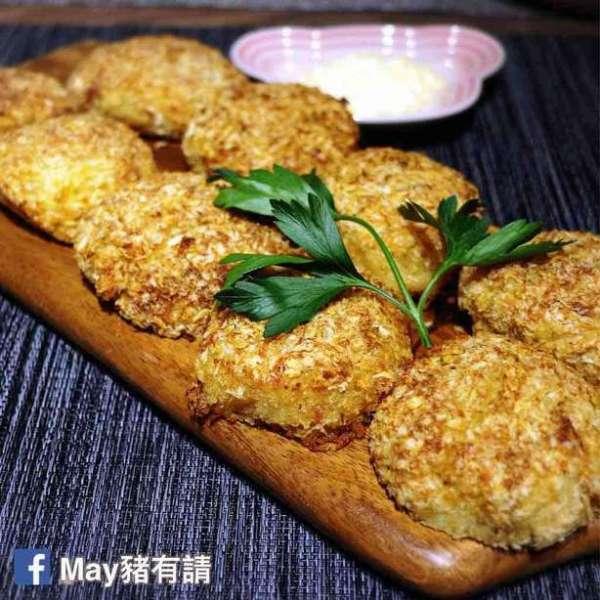 日式忌廉蟹肉薯餅