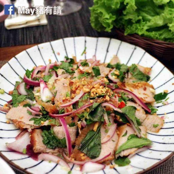 泰式豬頸肉沙律