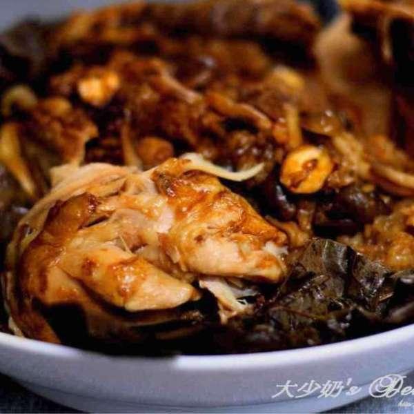 荷葉糯米釀雞