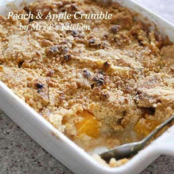 蘋果蜜桃奶酥 Apple & Peach Crumble