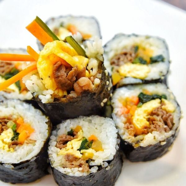韓式紫菜包飯