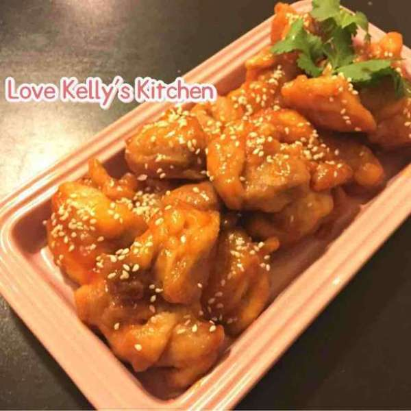 韓式辣醬甜酸雞