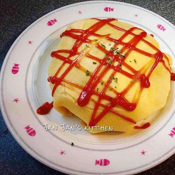 簡易韓式蛋包飯