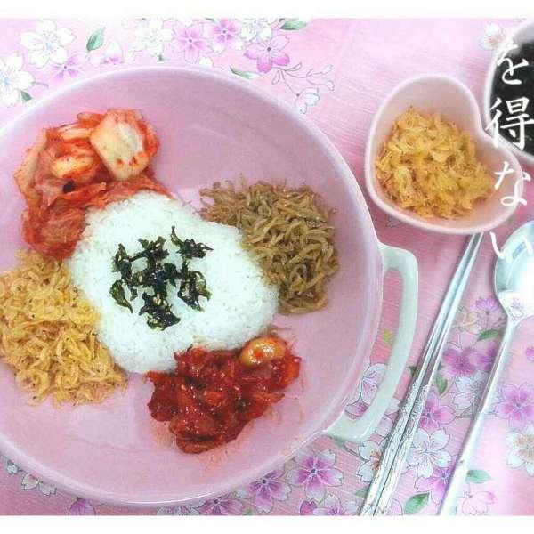 韓式紫菜泡菜拌飯