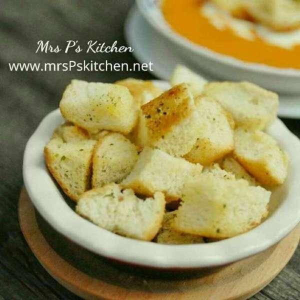 法式香蒜麵包粒 Crouton