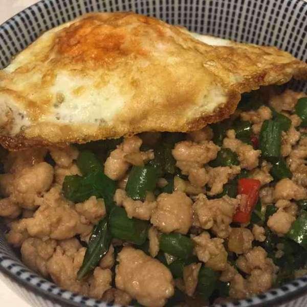 泰式肉碎大碗飯