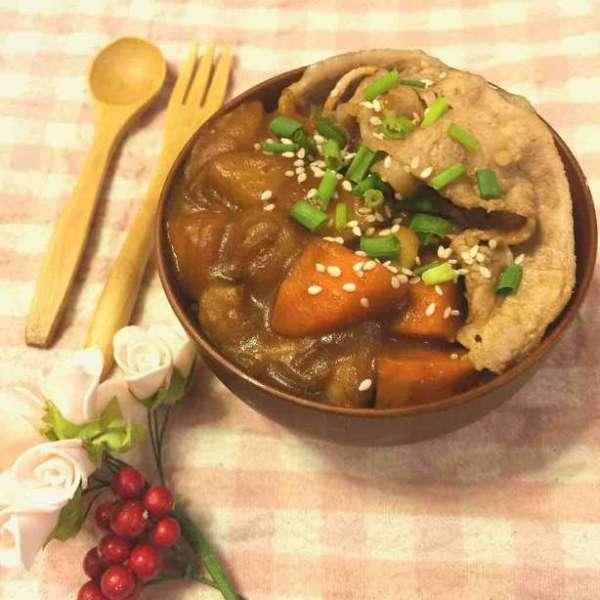 一人前~日式咖哩牛肉丼