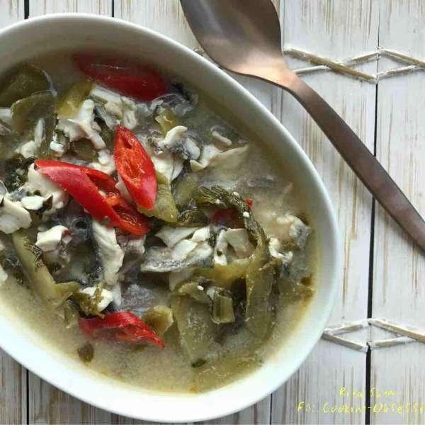 酸菜魚湯浸魚片
