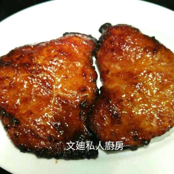簡易版蜜汁豬頸肉