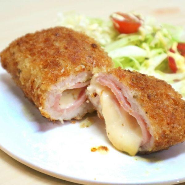 藍帶芝心豬扒 Cordon Bleu Pork Chops