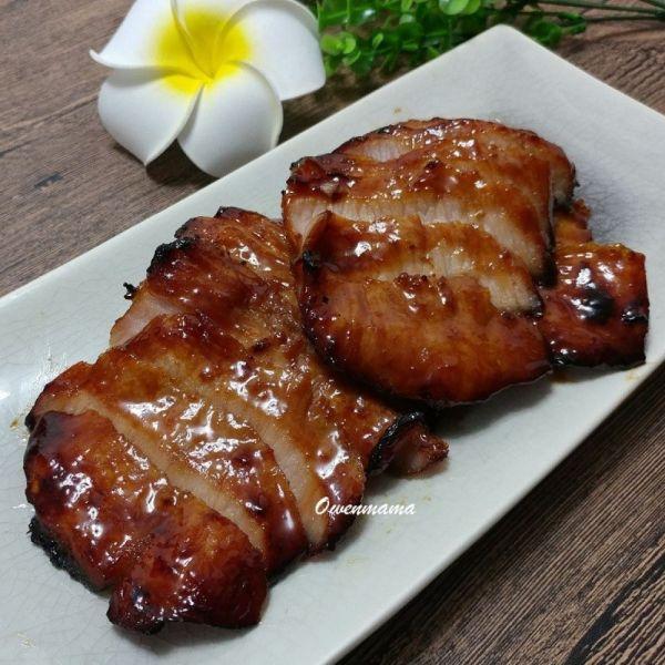 蜜汁烤豬頸肉
