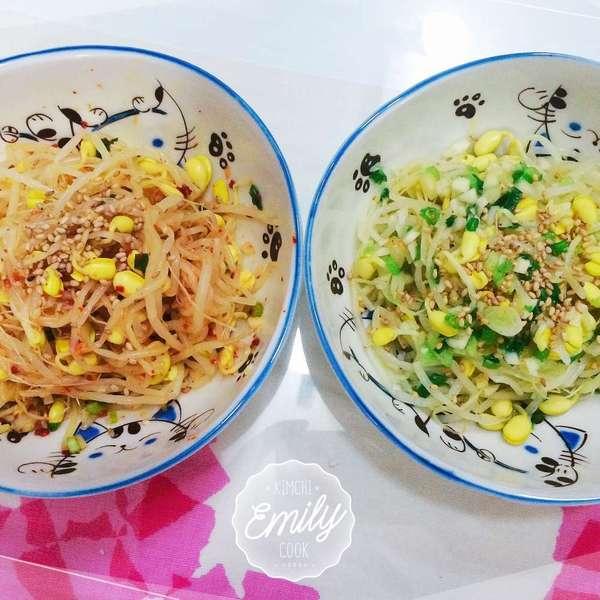 韓式涼伴大豆芽