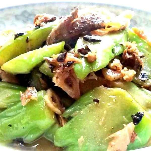 豆豉鯪魚煮苦瓜