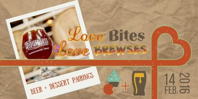 Beer and Dessert Pairings: LOVE Bites, LOVE Brewses at Hourglass Brewery