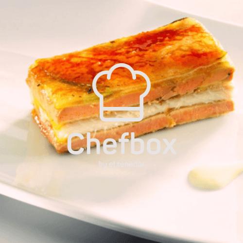 caramelized foie gras dish.