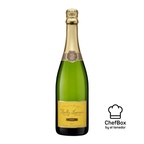 Bottle of Bailly Lapierre Crémant de Bourgogne Réserve Brut N.V.