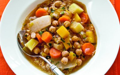 It's Stew Season!!!  Chickpea and Winter Vegetable Stew
