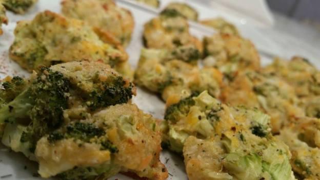 Croquetas de brocolis y queso