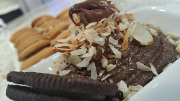Dip de galletas de chocolate