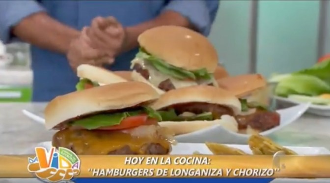 Hamburgers de Longaniza y Chorizo (VIDEO)