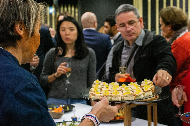 buffet à l'événement MACSF