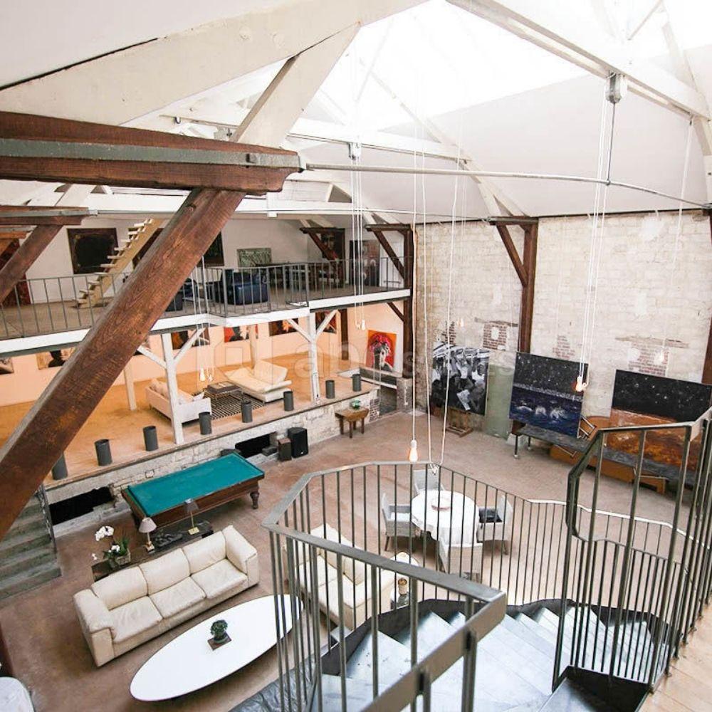 loft industriel moderne