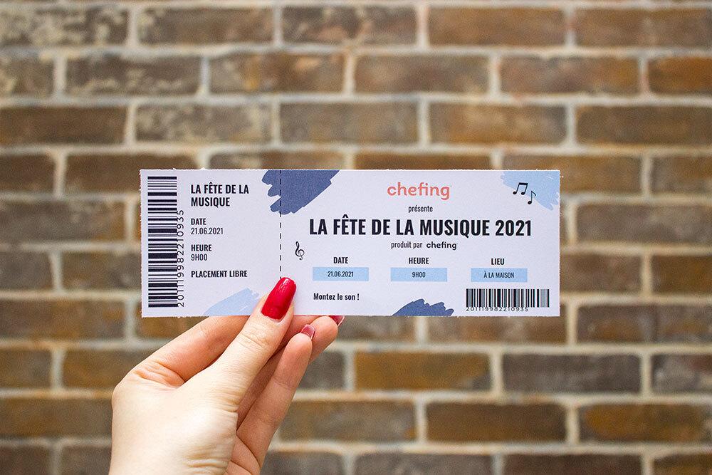 Votre ticket pour la Fête de la Musique