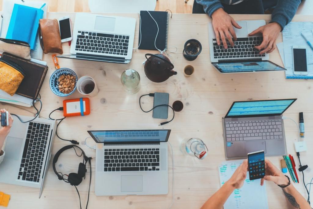 Séminaire d'entreprise : travailler dur