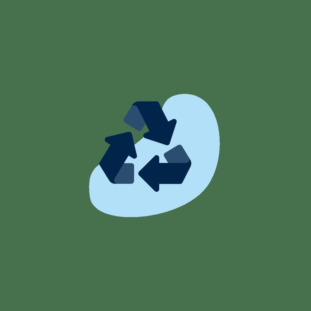 RSE événementiel : recyclable