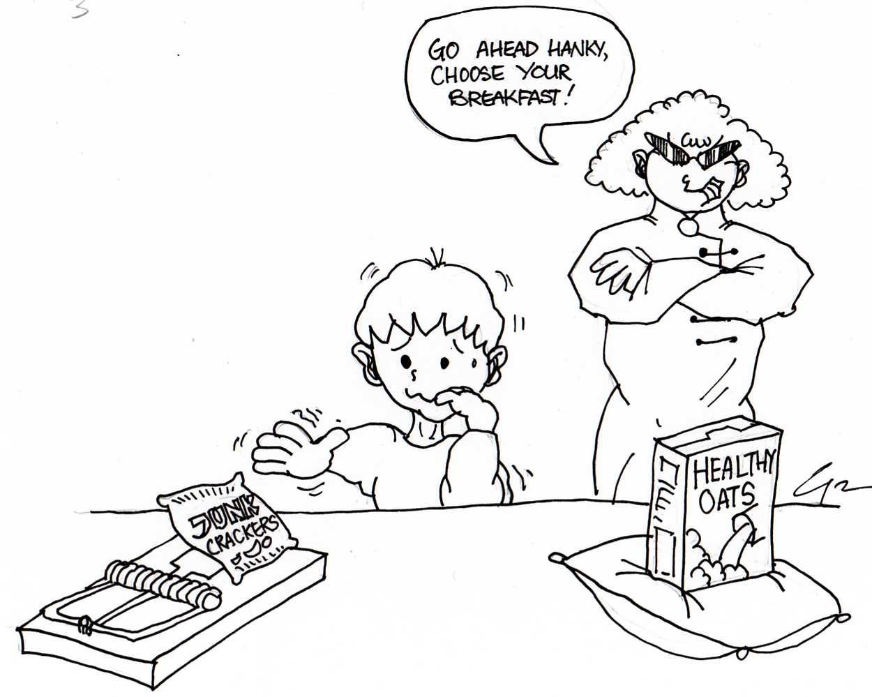 Cartoon Teach Children How To Cook