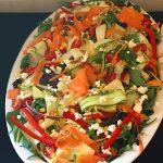 Vegetable Ribbon Salad