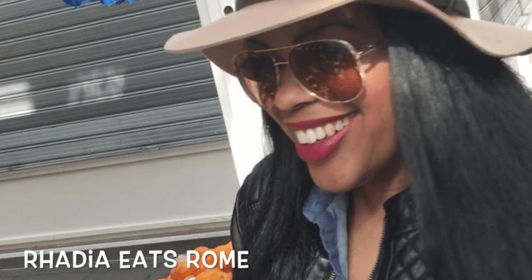 Rhadia Eats Rome