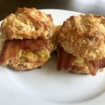 Easy Bacon Cheddar Biscuits
