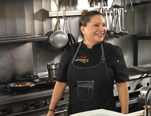 chef rosie, provecho grill, award winning latina chef, latina chef, calimex cuisine