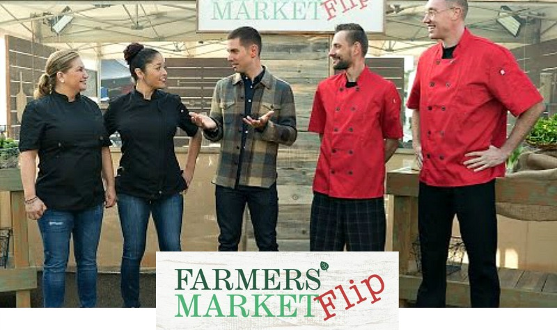 chef rosie, farmers market flip