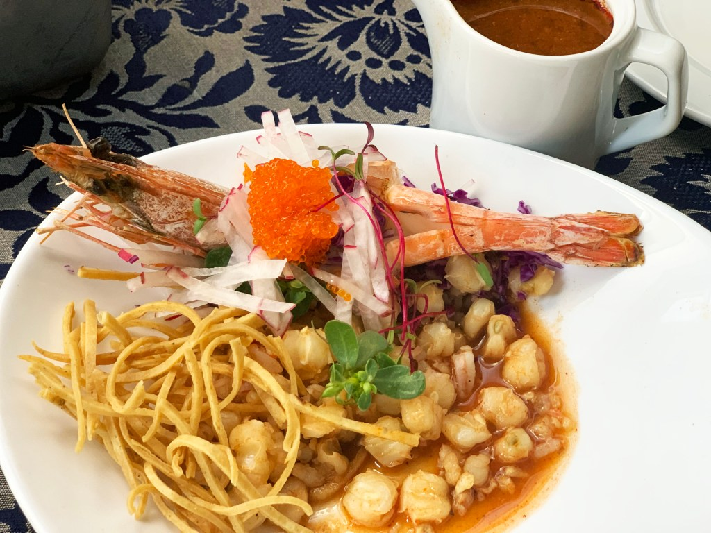 chef rosie, vincente fox, chefs latinos, mexico chef, latina chef, celebrity chef, food network contestant, mexican chef, mexican cuisine, shrimp soup, veracruz soup, pozole