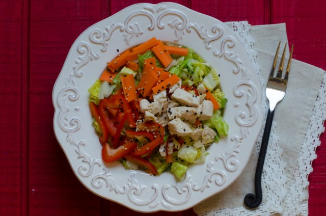 Chinese Chicken Salad from ChefSarahElizabeth.com