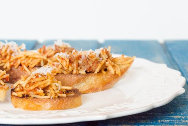 P'sgetti Sandwich from ChefSarahElizabeth.com