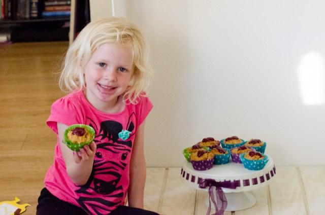 PBJ Muffins recipe from ChefSarahElizabeth.com