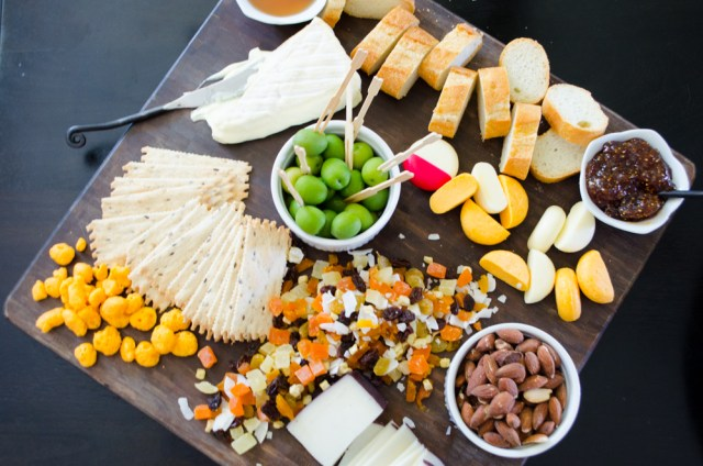 Pregnancy Cheese Platter from ChefSarahElizabeth.com