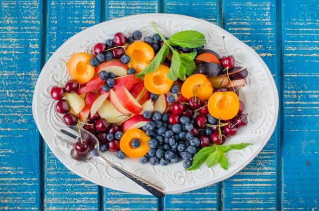 Stone Fruit Platter recipe from ChefSarahElizabeth.com