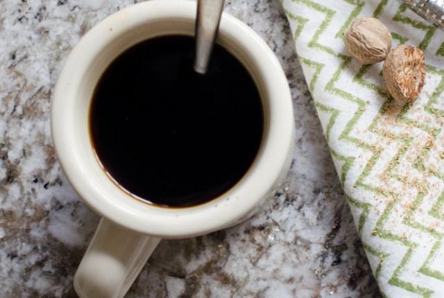 Nutmeg Coffee from ChefSarahElizabeth.com