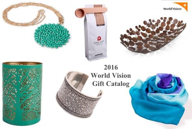 World Vision 2016 Gift Catalog