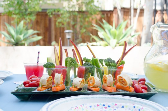 Garden Party Menu from ChefSarahElizabeth.com